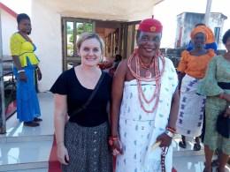 Ms. Vanessa Mitchell and Omu Anioma, Obi Martha Dunkwu