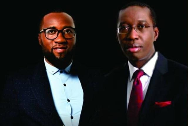 Philip Ugbomah and Governor Ifeanyi Okowa