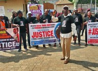 Civil Society Organizations Protest Ritual Killing of Miss Elozino Ogege in Asaba