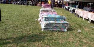 Bale of Clothes Donated by Arc. Joseph Ogeh to Isoko North Women