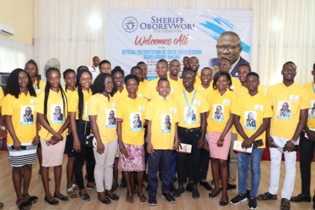 Beneficiaries of Sheriff Oborevwori Foundation Scholarship Award