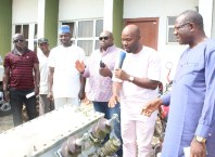 Aniocha North Council Chairman, Hon. Chuks Oseme Donates Transformer