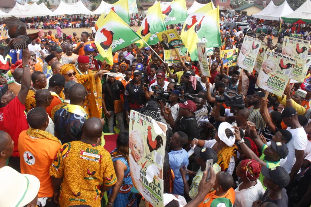 APGA Supporters in Delta State