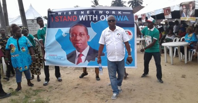 Barr Ejiro Nomuoja, Delta Central Coordinator of Wise Network - Okowa Victory Foundation