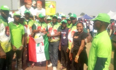 Hon. Christopher Ochor Ochor Picks PDP Flag as Candidate for Ukwuani State Constituency