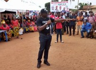 Delta State Commissioner for Information, Chief Patrick Ukah during 2019 PDP Campaigns