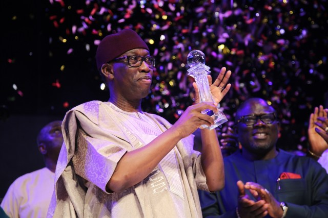 Okowa Bags 2018 Silverbird Man Of The Year Award