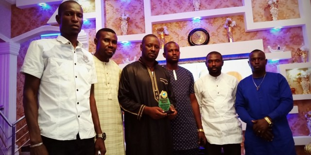 Prince Kpokpogri Flanked by Members of Delta Integrity Group, DIG