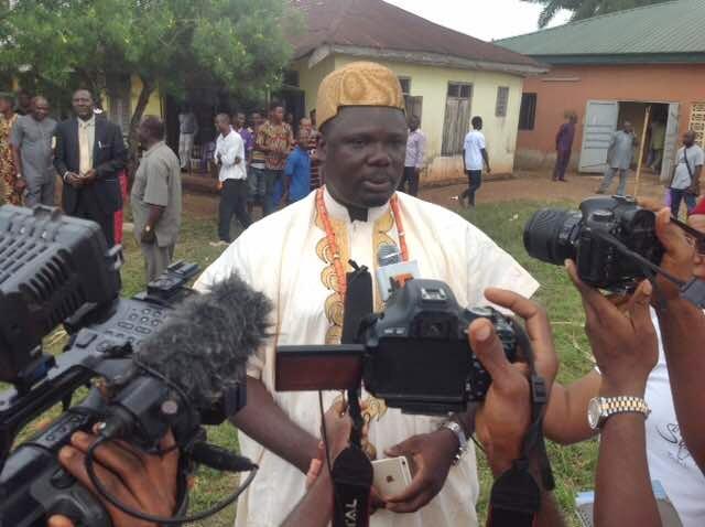 The Obi of Igbodo Kingdom, Barr. Ikechukwu Nkeobikwu Osedume 1