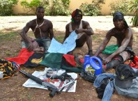 Arrested Members of the Indigenous People of Biafra (IPOB) in Asaba, Delta State