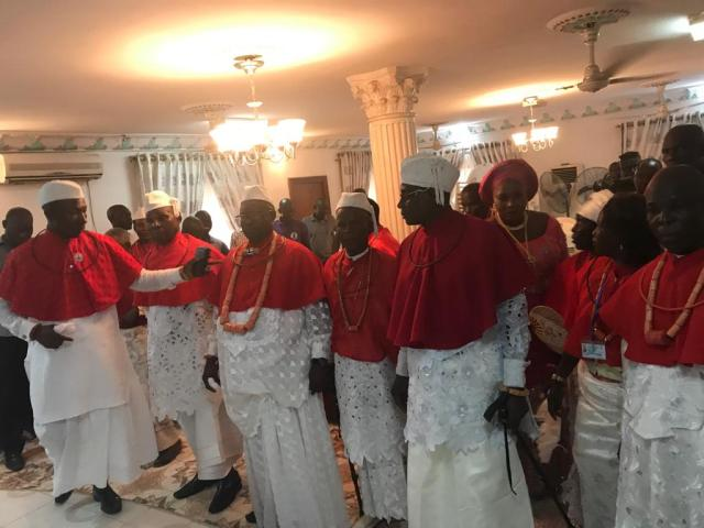 The People of Seimbiri Kingdom Pays Homage to King Charles Ayemi-Botu on the Occassion his Silver Jubilee Coronation Anniversary