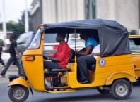 Tricycle AKA Keke Napep in Nigeria