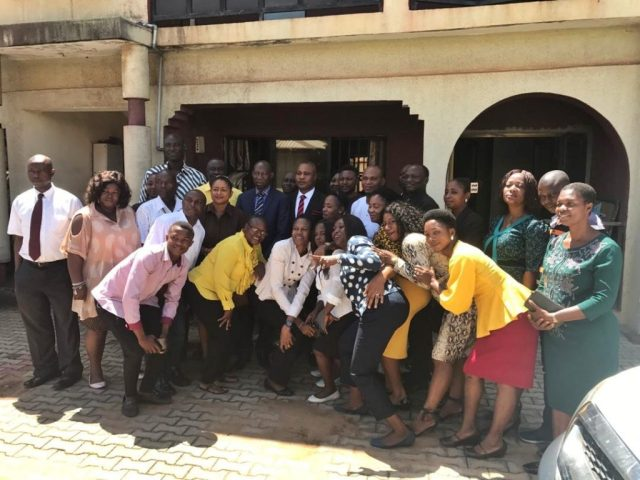 Management and Staff of Delta State Ministry of Urban Renewal