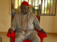 HRM Michael Mbanefo Ogbolu, the Ugoani of Okpanam community