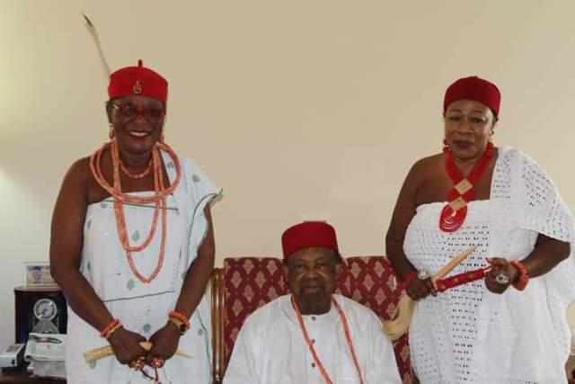 Obi Martha Dunkwu Visits Obi Chike Edozien