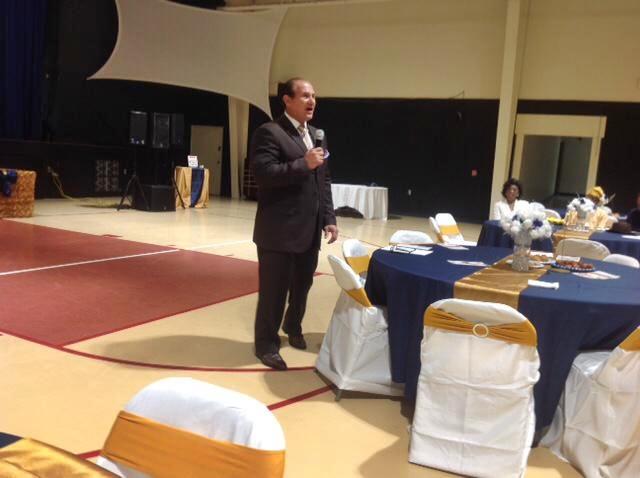 Pastor Tino Cione of Trinity Assembly of God, 7800 Goodluck road, Lanham, Maryland, USA