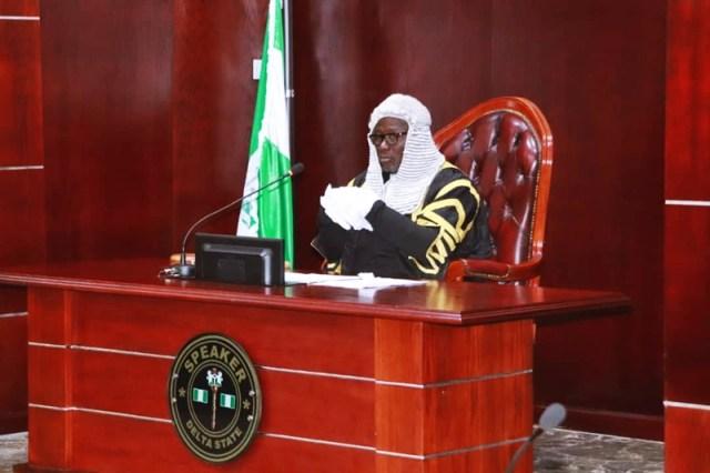 Speaker, Delta State Seventh Assembly, Rt. Hon. Sheriff Oborevwori