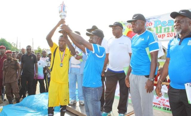 Comrade Mulade Sheriff Ijaw, Itsekiri Peace and Unity Cup 2017
