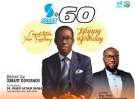 Philip Ugbomah Congratulates Okowa at 60