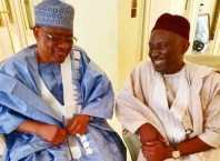 Former President of Nigeria, General Ibrahim Babangida and Plays Host to Hon Ndudi Elumelu