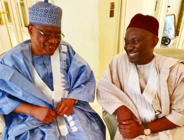 Former President of Nigeria, General Ibrahim Babangida and Plays Host to Hon Ndudi Elumelu