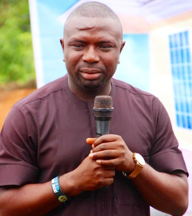 Comrade Umuakpo Ovie President, Isoko National Youth Assembly, INYA