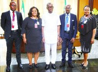 Okowa Meets Delta NIMC Officials