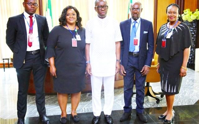 Okowa Meets Delta NIMC Officials