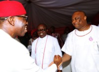L-R: Ifeanyi Okowa and Great Ogboru