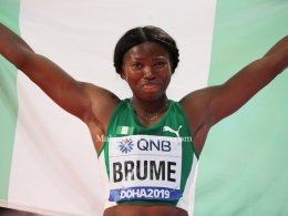 Ese Beume, IAAF Long Jump Medalist