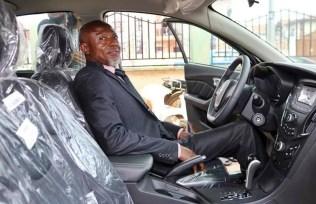 Mr. Okolafor Fidelis, Best School Principal in Delta State and a recipient of Car Reward