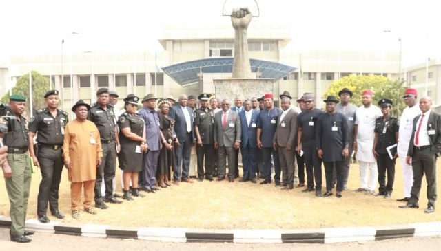 Delta Lawmakers and Delta Police Officers