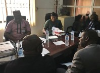 Meeting of Delta Assembly Committee on Lands, Survey and Urban Development with State Ministry