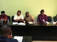 Chairman and Members of Delta State House of Assembly Committee on Trade and Investment (Honorables Mathew Opuoru Anthony Elekeokwuri, Felix Anirah, Shedrack Rapu and Ekpotuareyin Pullah)
