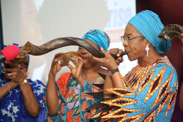 Dame Edith Okowa Prays