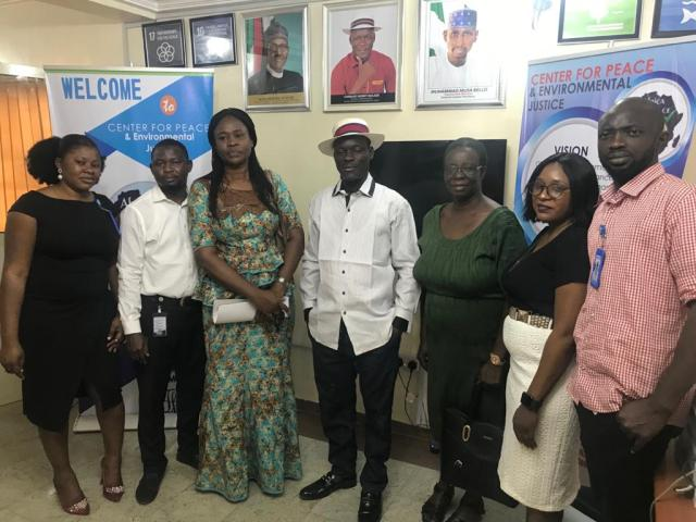CEPEJ'S Staff and NDLEA Officials