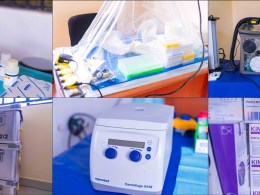 some of the equipment for the COVID-19 mobile Laboratory Inaugurated at the Asaba Specialist Hospital