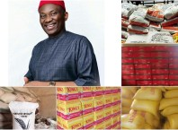 Ndudi Elumelu Covid-19 Food Support for Aniocha/Oshimili Federal Constituents