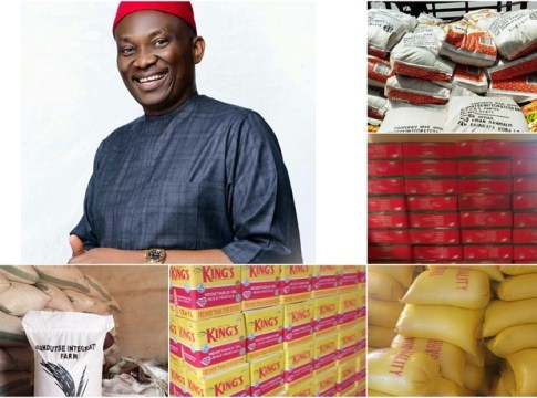 Ndudi Elumelu Covid-19 Food Support for Aniocha/Oshimili Federal Constituents