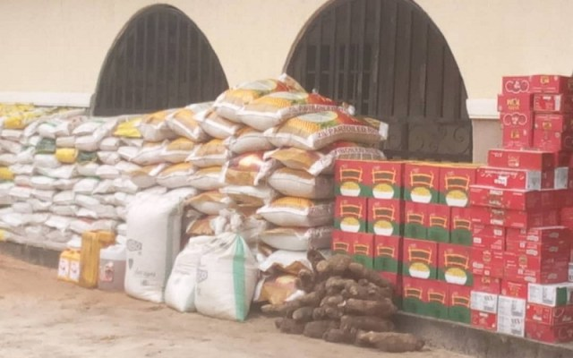 Covid-19 Food Support To Ukwuani Local Government Area by Rt. Hon Ochor Christopher Ochor