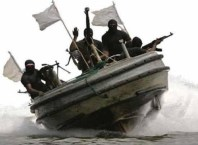 Niger Delta Agitators on Boat