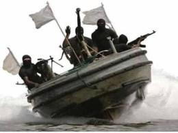 Niger Delta Agitators on Boat
