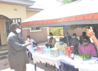 Rt. Hon. Ochor Christopher Ochor speaking to Ukwuani Clan Leaders