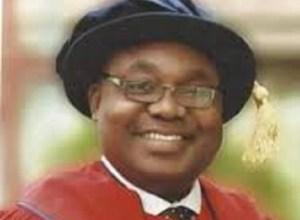 Professor Akpofure Rim-Rukeh, Newly installed Vice-Chancellor, FUPRE