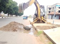 Desilting Blocked Drains in Asaba