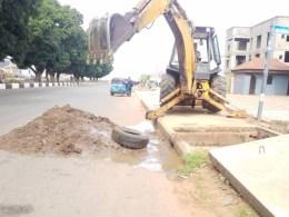 Desilting Blocked Drains in Asaba