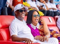 Delta Governor, Dr Ifeanyi Okowa and Wife, Dame Edith Okowa