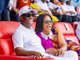 Delta Governor, Dr Ifeanyi Okowa and Wife, Dame Edith Okowa