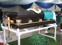 Casket Bearing the Remains of Late Onofekohwo Joyce Overah