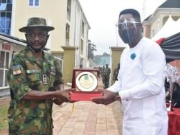Nigerian Army Honours Osanebi